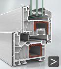 Finestre PVC SCHÜCO - Inserti in alluminium