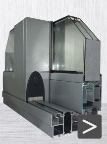 Finestre in alluminio - sistemi scorrevoli